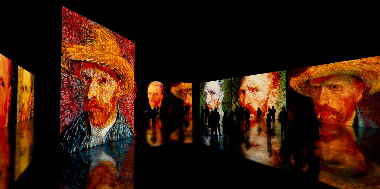 с 8 января мультимедийный спектакль «Ван Гог. Письма к Тео»
