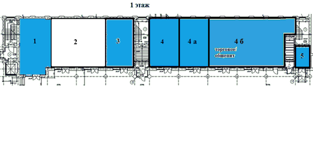 План 6 корпус 1 этаж Ликерки Лофт